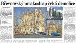 mrakodrap demolice
